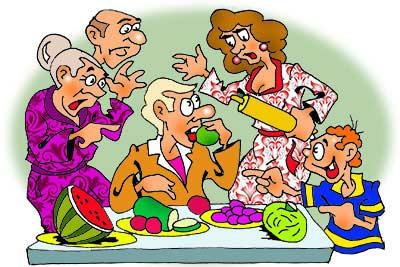 семья сыроеда
