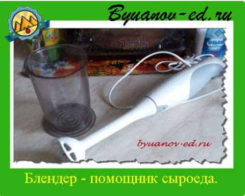блендер для сыроеда
