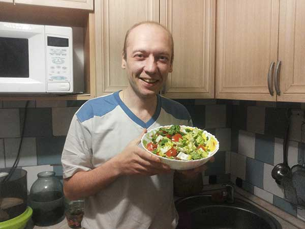 любимый салат Буянова Олега