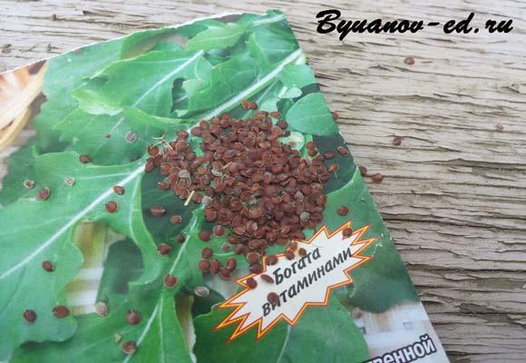 семена руколы