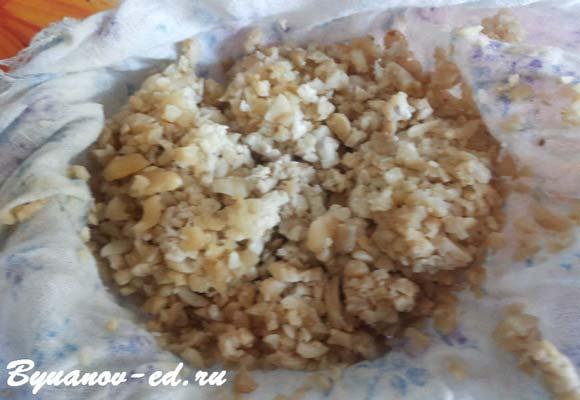 сыроедческий сыр из орехов кешью