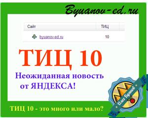 тиц 10