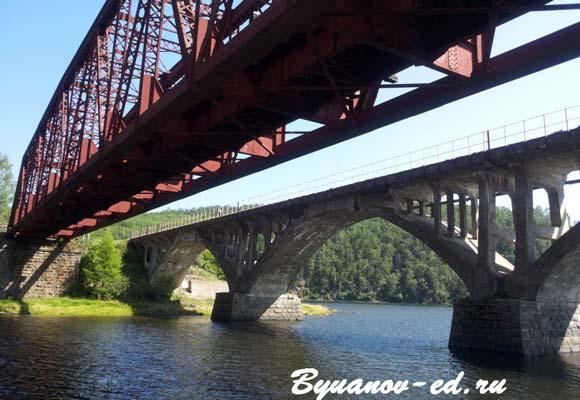 мосты половинной
