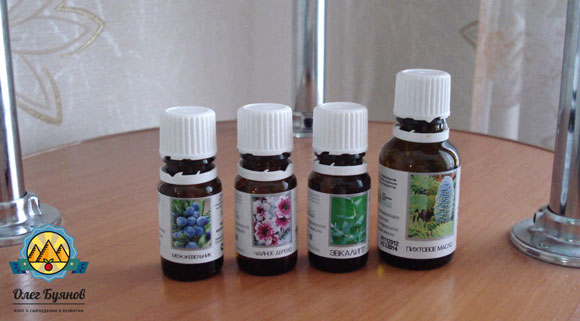 ароматические масла применение