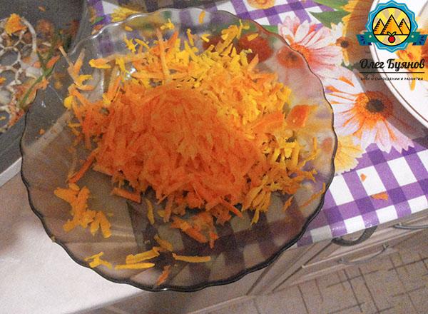 шинкованный овощ