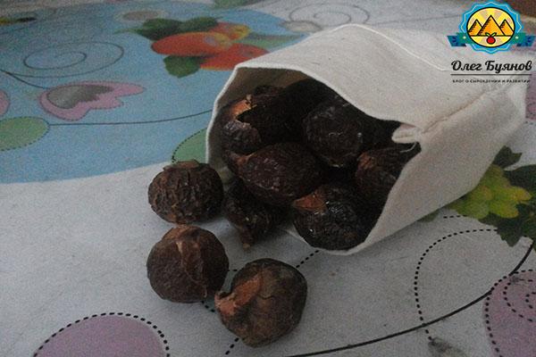 мешочек с орешками