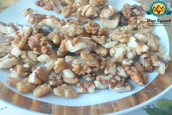 грецкие орешки