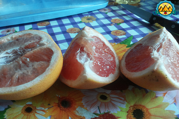 экзотический фрукт помела