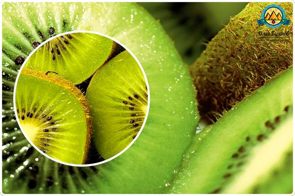 зелёный фрукт киви