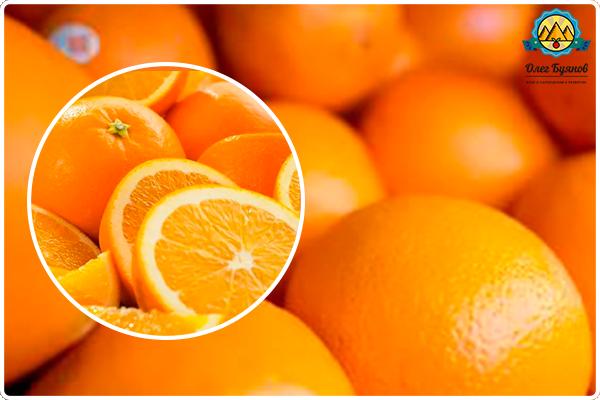 красивый оранжевый фрукт
