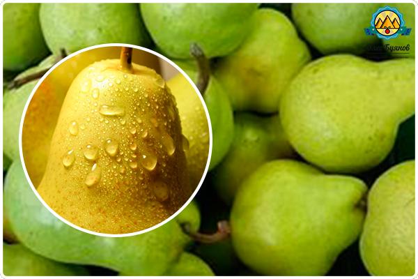 свежий зелёный фрукт