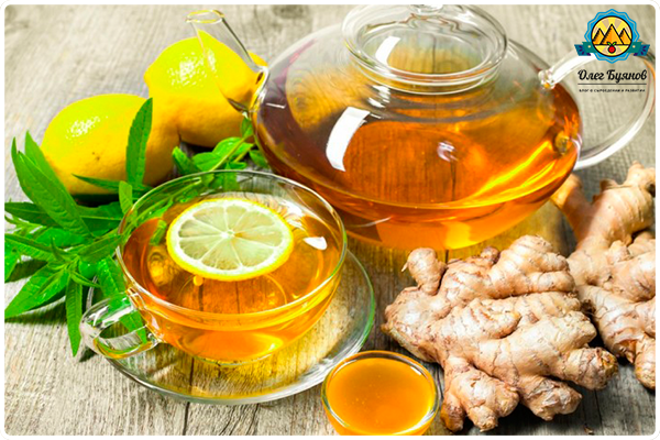 лимноный чай