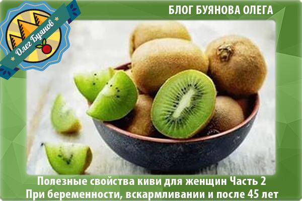 плод киви