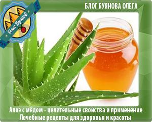 мёд и алой