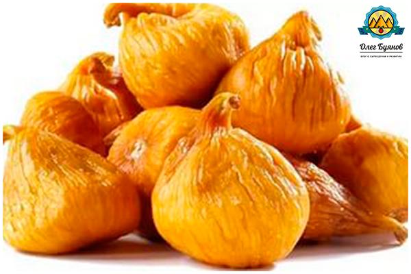 сушёные сладкие плоды