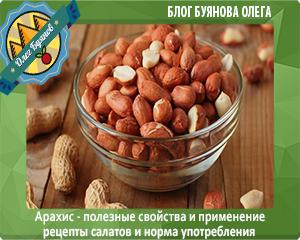 тарелка с арахисом
