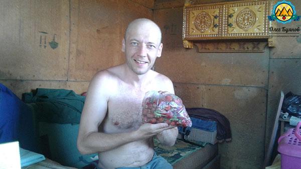 буянов олег с клубникой