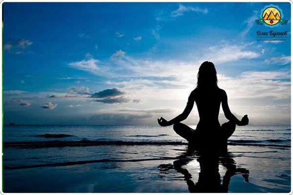 медитация на море