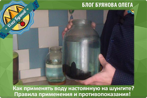 шунгитовая вода