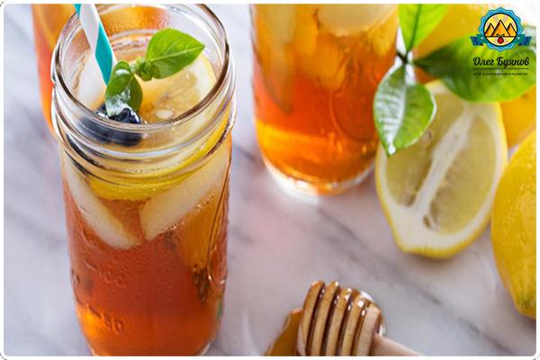 лимон с мёдом напиток