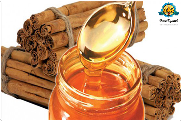 маска корицы с мёдом