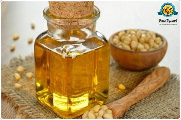 масло из кедровых орехов