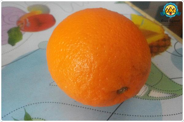 оранжевый плод