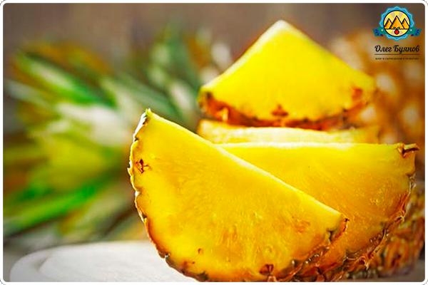 Удивительный ананас и его полезные свойства