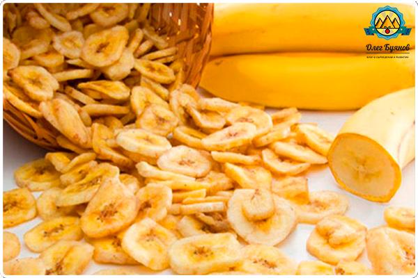 сухие бананы