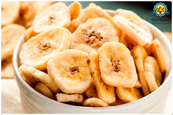 сушёные бананы