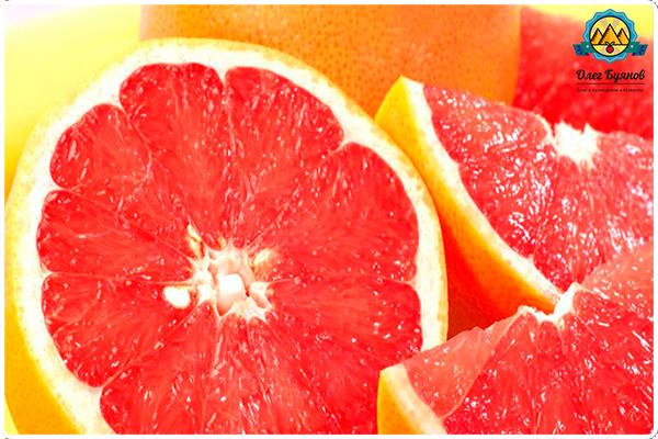 резанный грейпфрут